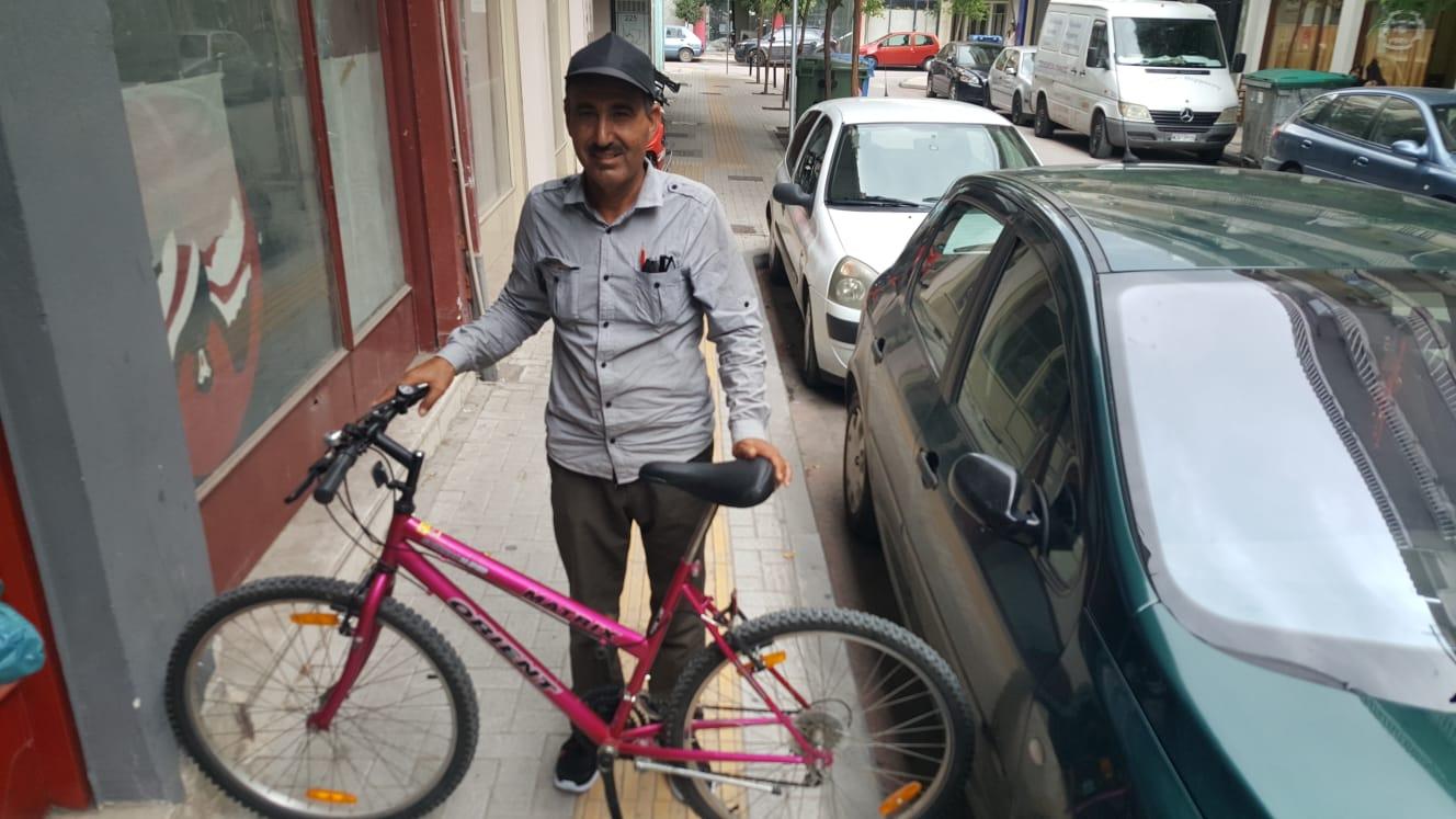 PRAXIS to Ahmad - pink bike